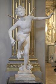 """- Jean Antoine Idrac - """"Amour piqué"""", vers 1876, marbre : après restauration, exposé au musée d'Orsay © Patrice Schmidt"""