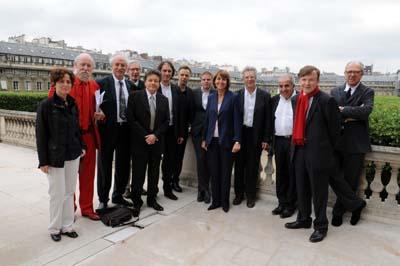Déjeuner au MCC des lauréats en présence de la Ministre Christine Albanel - 4 juin 2008