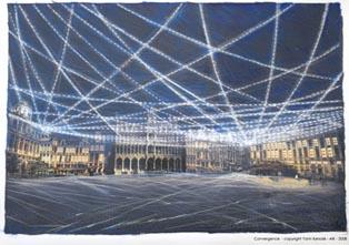 Bruxelles mise en lumière