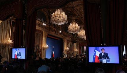 Le Président de la République a présenté les mesures de soutien qu'il a retenues parmi les 90 préconisées dans le Livre vert des Etats généraux de la presse écrite.