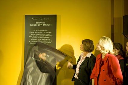 Centenaire de Claude Lévi-Strauss au musée du quai Branly - crédit photo : Jacques Rostand