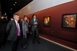 23 septembre : Christine Albanel inaugure l'exposition Emil Nolde au Grand Palais