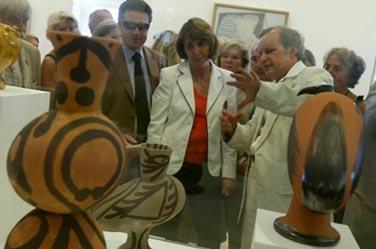 Réouverture du musée Picasso d'Antibes