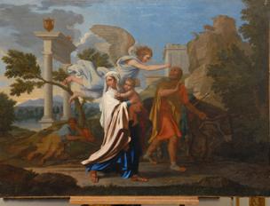 """L'acquisition de """"La Fuite en Egypte"""" par Nicolas Poussin"""