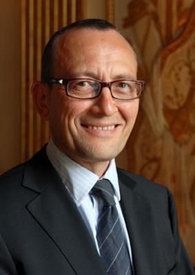 Richard Lagrange, directeur du Centre national des arts plastiques (CNAP)