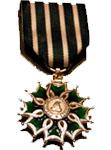chevalier dans l'ordre des Arts et des Lettres