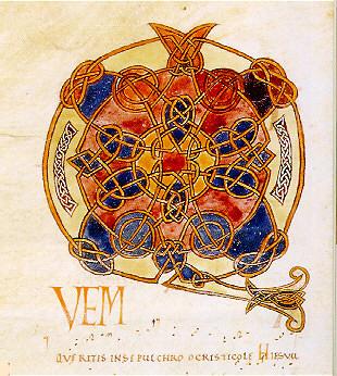 B.N.F. Paris, ms. lat. 1121, fol. 11 v°